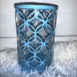 Rustic blue container